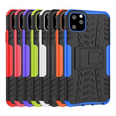 voordelige iPhone-hoesjes-hoesje voor Apple iPhone 11 / iPhone 11 pro / iPhone 11 pro max schokbestendig / met standaard achterkant armor TPU / pc hoesje