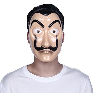 povoljno Dekoracija doma-novac pljačka kuću od papira la casa de papel maska Halloween