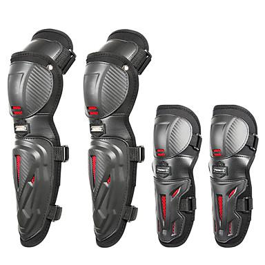 povoljno Zaštitna oprema-motorcross lakat zaštitni jastučići za koljena / 4pcs podesivi jastučići za koljena zaštitnik lakatni oklop za motocikl bicikl / biciklizam / utrke / skijanje / rolanje