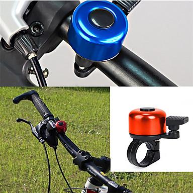 olcso Csengők, tükrök és zárak-LITBest Kerékpár csengő Vízálló Hordozható Könnyű riasztás Tartós mert Treking bicikli Mountain bike Szórakoztató biciklizés Kerékpározás ABS Ötvözet Ibolya Arany Ezüst 1 pcs