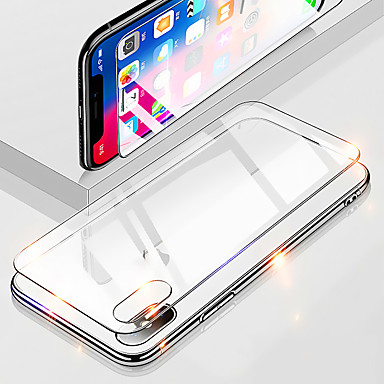 voordelige iPhone screenprotectors -AppleScreen ProtectoriPhone XS High-Definition (HD) Achterkantbescherming 1 stuks Gehard Glas