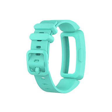 お買い得  携帯電話アクセサリー-時計バンド のために フィットビットエース2 / Fitbit Inspire HR / Fitbitインスパイア Fitbit スポーツバンド シリコーン リストストラップ