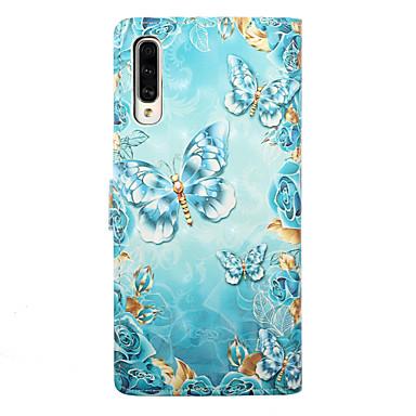 чехол для samsung galaxy a30 (2019) galaxy a50 (2019) чехол для телефона искусственная кожа материал 3d окрашенный рисунок чехол для телефона