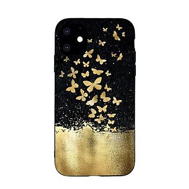voordelige iPhone-hoesjes-hoesje voor apple iphone 11 / iphone 11 pro / iphone 11 pro max ultradun / patroon achterkant vlinder tpu zacht