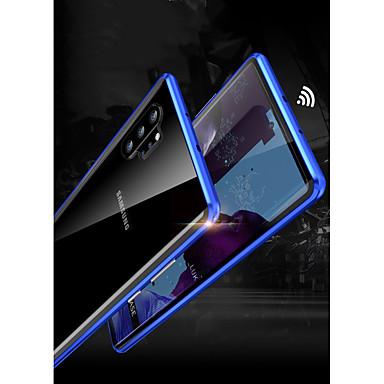 Недорогие Чехлы и кейсы для Galaxy Note-Кейс для Назначение SSamsung Galaxy Note 9 / Note 8 / Galaxy Note 10 Защита от удара Чехол броня Закаленное стекло