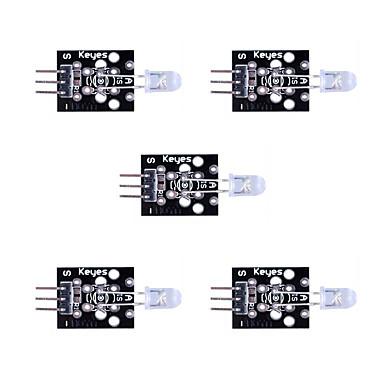 olcso KIT-7 színes automatikus villogó modul * 5 egységkészlet