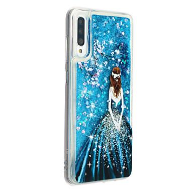 voordelige Galaxy A-serie hoesjes / covers-hoesje voor Samsung Galaxy A7 (2018) Galaxy A9 (2018) Telefoonhoes TPU Materiaal Geschilderd Patroon Drijfzand Telefoonhoesje voor Samsung Galaxy A10 A20 A30 A40 A50 A70 A70
