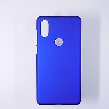 Недорогие Чехлы и кейсы для Xiaomi-Кейс для Назначение Xiaomi Xiaomi Mi Play / Xiaomi Mi Max 3 / Xiaomi Mi Max 2 Ультратонкий Кейс на заднюю панель Однотонный ТПУ
