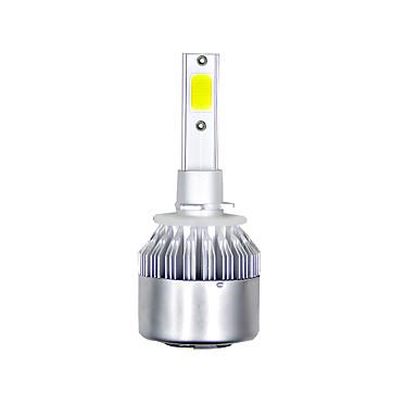 voordelige Autokoplampen-1 paar cob led koplamp vervangende lamp voor rv suv mpv auto