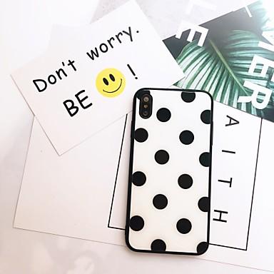 voordelige Galaxy Note-serie hoesjes / covers-hoesje Voor Samsung Galaxy S9 / S9 Plus / S8 Plus Spiegel / Ultradun / Patroon Achterkant Tegel TPU