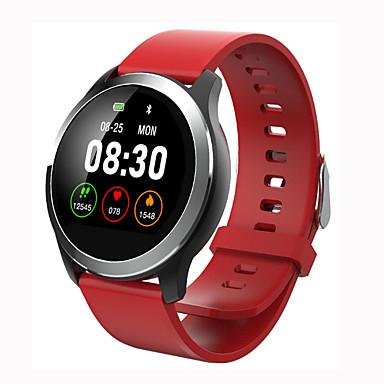 رخيصةأون ساعات ذكية-z03 سوار ذكي smartwatch القلب معدل استشعار السيليكون الأزرق led / روبي / أسود