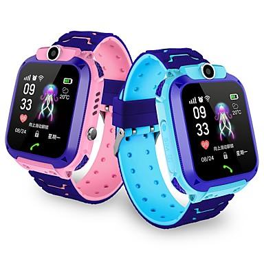 olcso Okos órák-Kids 'Órák YYGM11 mert iOS / Android GPS / Hosszú készenléti idő / Kéz nélküli hívások / Érintőképernyő / Fényképezőgép Testmozgásfigyelő / Ébresztőóra / Naptár / 0,3 MP / Lépésszámlálók