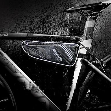 olcso Kerékpár táskák-1 L Váztáska Vízálló Vízálló cipzár Viselhető Kerékpáros táska PU bőr TPU EVA Kerékpáros táska Kerékpáros táska Kerékpározás Kerékpár