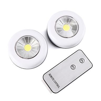 levne LED nová světla-Brelong bezdrátové dálkové ovládání vedlo noční světlo 2 dílné skříňky světlo baterií napájené světlo vnitřní nástěnné svítilny