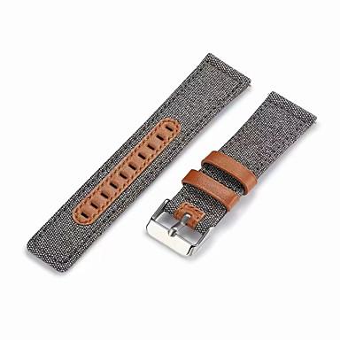 Недорогие Часы для Samsung-Ремешок для часов для Samsung Galaxy Watch 46 Samsung Galaxy Классическая застежка Натуральная кожа Повязка на запястье