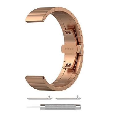 voordelige Smartwatch-accessoires-Horlogeband voor Vivofit 3 Garmin Sieradenontwerp Roestvrij staal Polsband