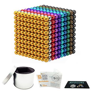 216 pcs 3mm Jucării Magnet bile magnetice Lego Super Strong pământuri rare magneți Magnet Neodymium Magnet Neodymium Stres și anxietate relief Birouri pentru birou Reparații Pentru copii / Adulți