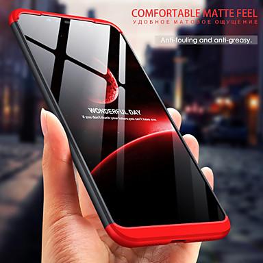 Недорогие Чехлы и кейсы для Galaxy Note 4-Кейс для Назначение SSamsung Galaxy S9 / S9 Plus / S8 Plus Защита от удара Кейс на заднюю панель Однотонный ПК