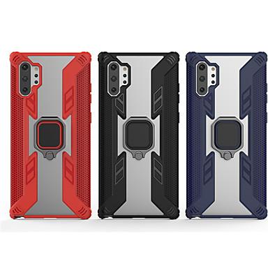 Недорогие Чехлы и кейсы для Galaxy S-Кейс для Назначение SSamsung Galaxy S9 / S9 Plus / S8 Plus Защита от удара / Кольца-держатели Кейс на заднюю панель Однотонный ПК