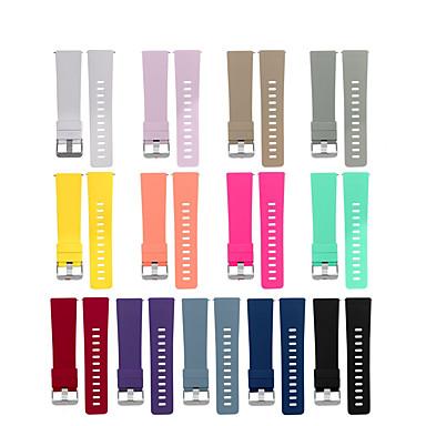 Недорогие Аксессуары для смарт-часов-Ремешок для часов для Fitbit Versa Fitbit Классическая застежка силиконовый Повязка на запястье