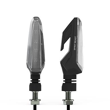 voordelige Motorverlichting-1 paar motorfiets richtingaanwijzers led richtingaanwijzer waterdichte richtingaanwijzer lichten