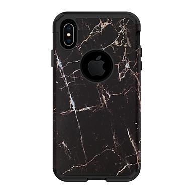 voordelige iPhone-hoesjes-hoesje Voor Apple iPhone XS / iPhone XR / iPhone XS Max Schokbestendig Achterkant Houtnerf PC
