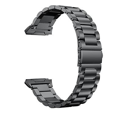 رخيصةأون إكسسوارات الهواتف المحمولة-حزام إلى Fitbit ionic فيتبيت تصميم المجوهرات ستانلس ستيل شريط المعصم