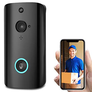 olcso Beléptető rendszerek-vezeték nélküli intelligens wifi audio video ajtó csengő távoli telefon kaputelefon