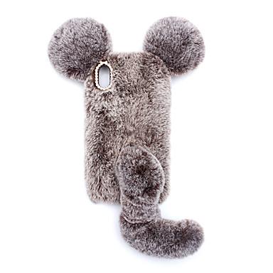 Недорогие Кейсы для iPhone 7 Plus-зайчик милый мультфильм мышь телефон оболочки животных для iphone x xs xr xs макс силиконовая защитная оболочка для iphone 6s 7 8 плюс оболочки