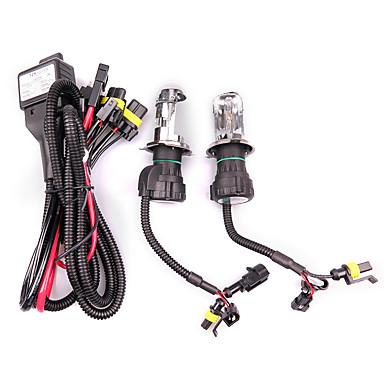 voordelige Autokoplampen-2 stks 55 w h4 verborg bi-xenon hi / low koplamp lampen conversie kit 3000-12000k kit typetype een lamp * 2 ballast * 2 kleurtemperatuur 8000k / 10000k