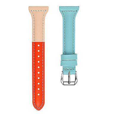 voordelige Smartwatch-accessoires-Horlogeband voor Apple Watch Series 4/3/2/1 Apple Butterfly Buckle Echt leer Polsband