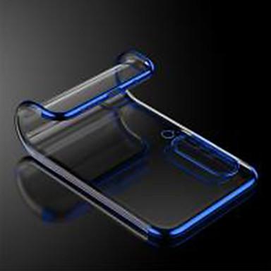 Недорогие Чехлы и кейсы для Galaxy Note-Кейс для Назначение SSamsung Galaxy S9 / S9 Plus / S8 Plus Защита от удара / Ультратонкий / Прозрачный Кейс на заднюю панель Однотонный / Прозрачный ТПУ