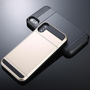 Недорогие Чехлы и кейсы для Galaxy Note-Кейс для Назначение SSamsung Galaxy S9 / S9 Plus / S8 Plus Кошелек / Бумажник для карт / Защита от удара Кейс на заднюю панель Однотонный ПК