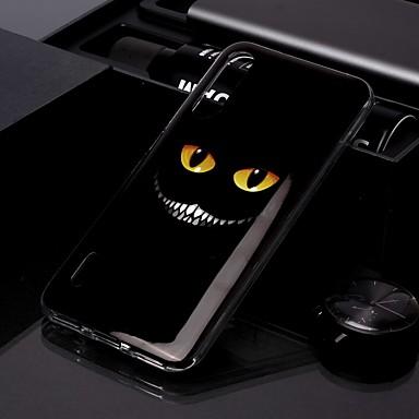 Недорогие Чехлы и кейсы для Xiaomi-чехол для xiaomi cc9 / xiaomi cc9e imd / выкройка задней крышки глаза зубы тпу для редми k20 / k20 pro / redmi 7a / redmi note 7 / note 7 pro