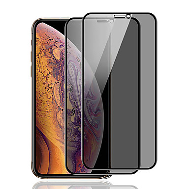 voordelige iPhone screenprotectors -screen protector voor iphone x / xs / xr / xs max privacy anti-spion gehard glas 1 st front screen protector high definition (hd) / 9h hardheid