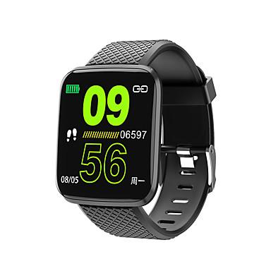 رخيصةأون ساعات ذكية-Kimlink 116plus الرجال النساء smartwatch الروبوت ios بلوتوث للماء شاشة اللمس القلب رصد معدل ضغط الدم قياس الرياضة الموقت عداد الخطى دعوة تذكير نشاط المقتفي النوم المقتفي