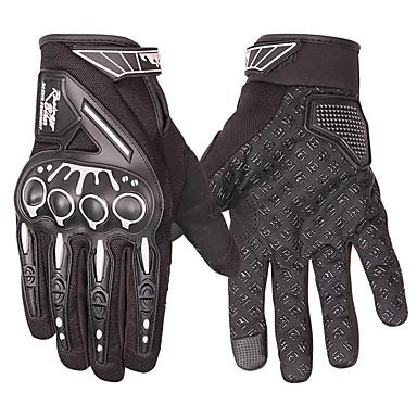 rukavice za jahanje motocikla zaštitne rukavice s ekranom osjetljivim na dodir / sportske rukavice na otvorenom - crne