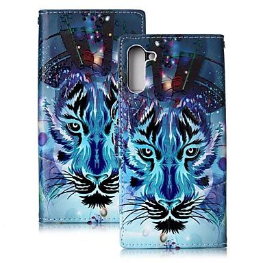 Kılıf Na Samsung Galaxy Note 9 / Note 8 / Galaxy Note 10 Portfel / Etui na karty / Odporny na wstrząsy Pełne etui Zwierzę Skóra PU