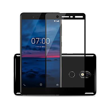 olcso Nokia képernyővédők-naxtop képernyővédő fólia a Nokia 7 edzett üvegvédőhöz, nagy felbontású (hd) / 9 órás keménység / 2,5d ívelt él