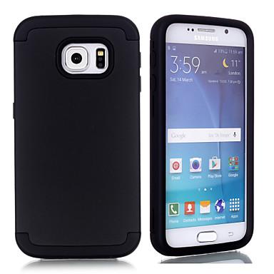 Θήκη Za Samsung Galaxy S6 Otporno na trešnju Stražnja maska Jednobojni TPU / PC
