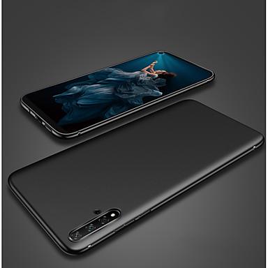 Недорогие Чехол Samsung-Кейс для Назначение SSamsung Galaxy Samsung Note 10 / Galaxy Note 10 Plus Защита от удара / Ультратонкий Кейс на заднюю панель Однотонный силикагель