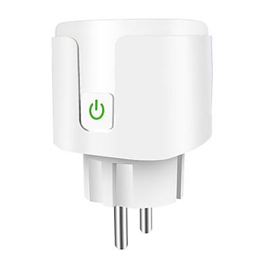 رخيصةأون Smart Plug-الأوروبي اليكسا مأخذ الذكية wifi الهاتف المحمول توقيت التبديل المكونات المصنعة المنزل الذكي oem