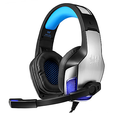 Недорогие Наушники для геймеров-KOTION EACH G5300 Игровая гарнитура Проводное Игры Стерео С микрофоном С регулятором громкости