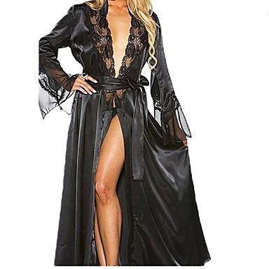 ieftine Costume Sexy-Femeie Cincizeci de umbre Adulți Uniforme sexy Lenjerie Costume sexy Lenjerie de Corp / Dantelă / Dantelă