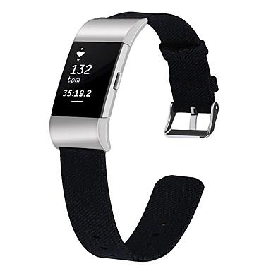 Недорогие Аксессуары для смарт-часов-Ремешок для часов для Fitbit Charge 2 Fitbit Спортивный ремешок Материал Повязка на запястье