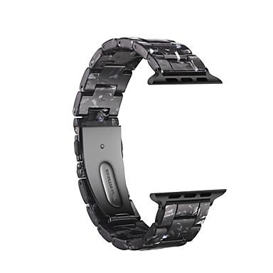Недорогие Аксессуары для смарт-часов-Ремешок для часов для Apple Watch Series 4/3/2/1 Apple Бабочка Пряжка Дерево Повязка на запястье