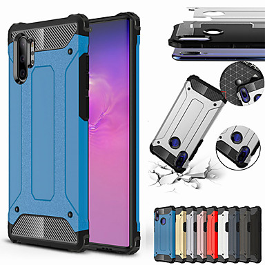 voordelige Galaxy Note-serie hoesjes / covers-schokbestendig hoesje telefoonhoesje voor Samsung Galaxy Note 10 Note 10 Pro Rubber Armor Hybrid PC Hard Cover voor Samsung Galaxy Note 9 Note 8 Silicone TPU Case