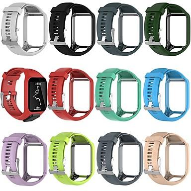 voordelige Smartwatch-accessoires-Horlogeband voor TomTom Spark 3 / TomTom Runner 2 TomTom Klassieke gesp Silicone Polsband