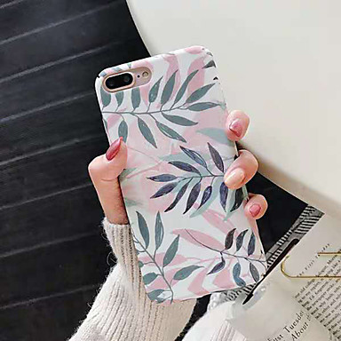 voordelige iPhone-hoesjes-hoesje Voor Apple iPhone XS / iPhone XR / iPhone XS Max Stofbestendig / Patroon / Backup Achterkant Landschap / Bloem TPU