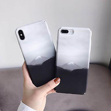 Недорогие Кейсы для iPhone 6 Plus-Кейс для Назначение Apple iPhone XS / iPhone XR / iPhone XS Max Защита от пыли / С узором / Резервная копия Кейс на заднюю панель Пейзаж ТПУ